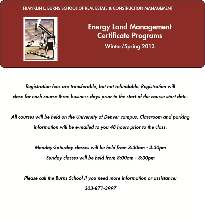 Ghost Level Community - RECM Energy Land Management Certificate ...