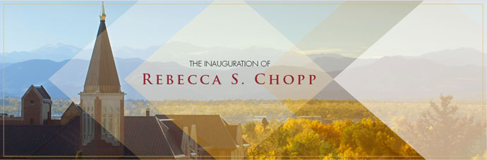 Inauguration of Rebecca S. Chopp